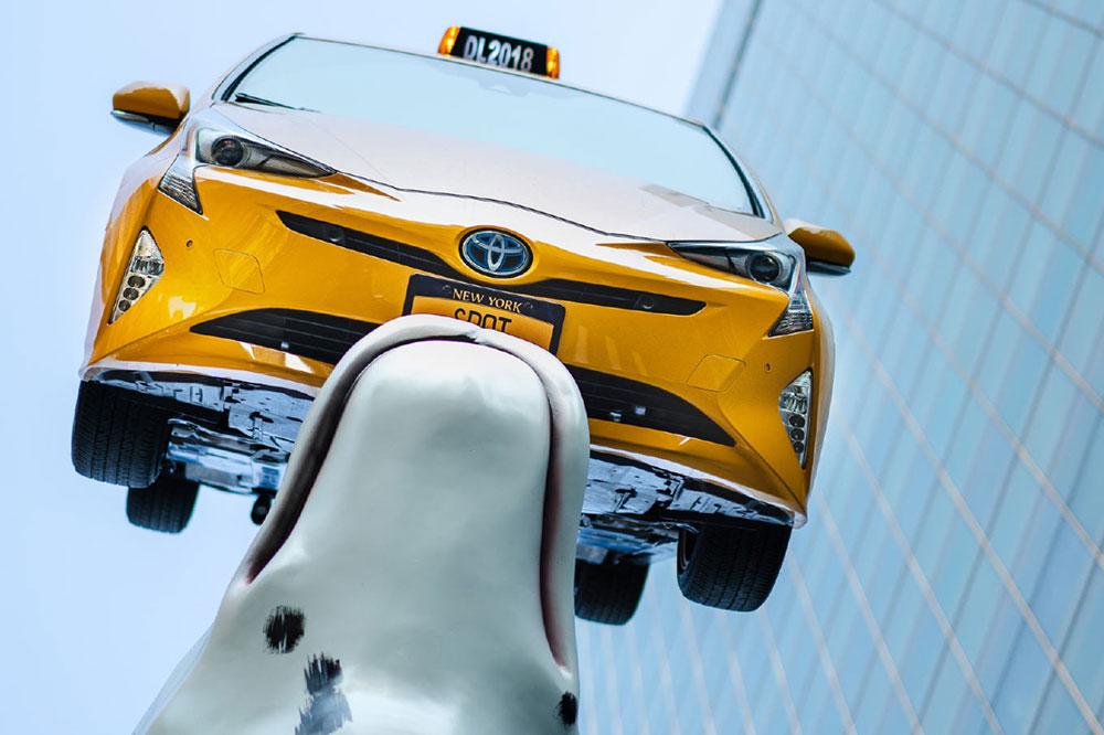 Meet Spot: NYC's Dalmatian Sculpture